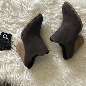 Dolce Vita for Target stacked heel booties boot 11